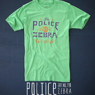 Áo Thun Police Zebra 100% hàng Thái Lan
