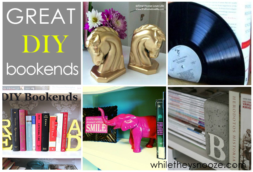 roundup 11 diy home office. Roundup 11 Diy Home Office. Bookends Intended  Office C A