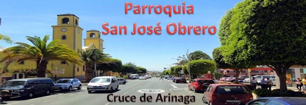 PARROQUIA DE SAN JOSÉ OBRERO. Cruce de Arinaga