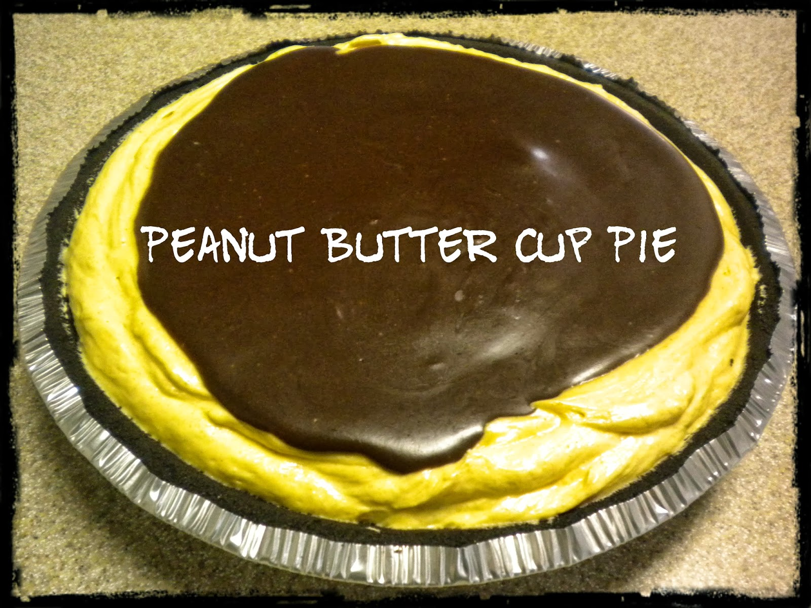 Daisies & Stars: Peanut Butter Cup Pie