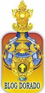 premio Blog Dorado que me ha sido entregado  por Rebeca del Blog el dragón de fresa