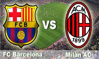 Video Hasil Pertandingan Barcelona vs AC Milan 13 Maret 2013
