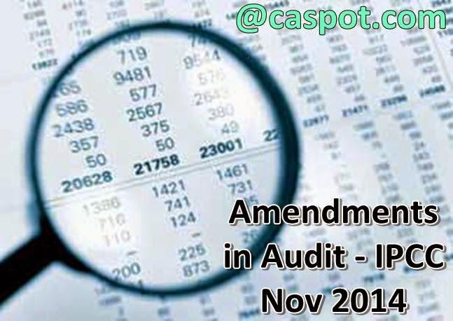amendments-in-auditing-nov-2014-ipcc