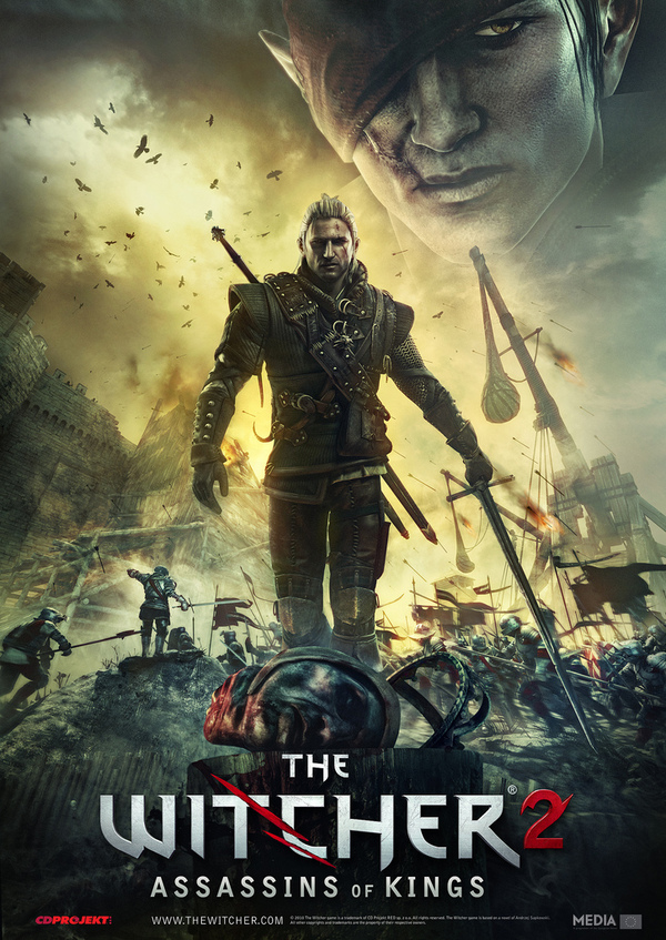 The Witcher 2 - Assasins Of Kings HD Cover Game