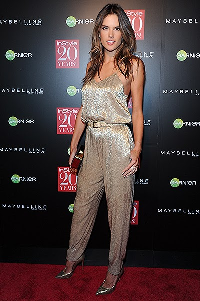 the 20th anniversary of InStyle_Alessandra Ambrosio