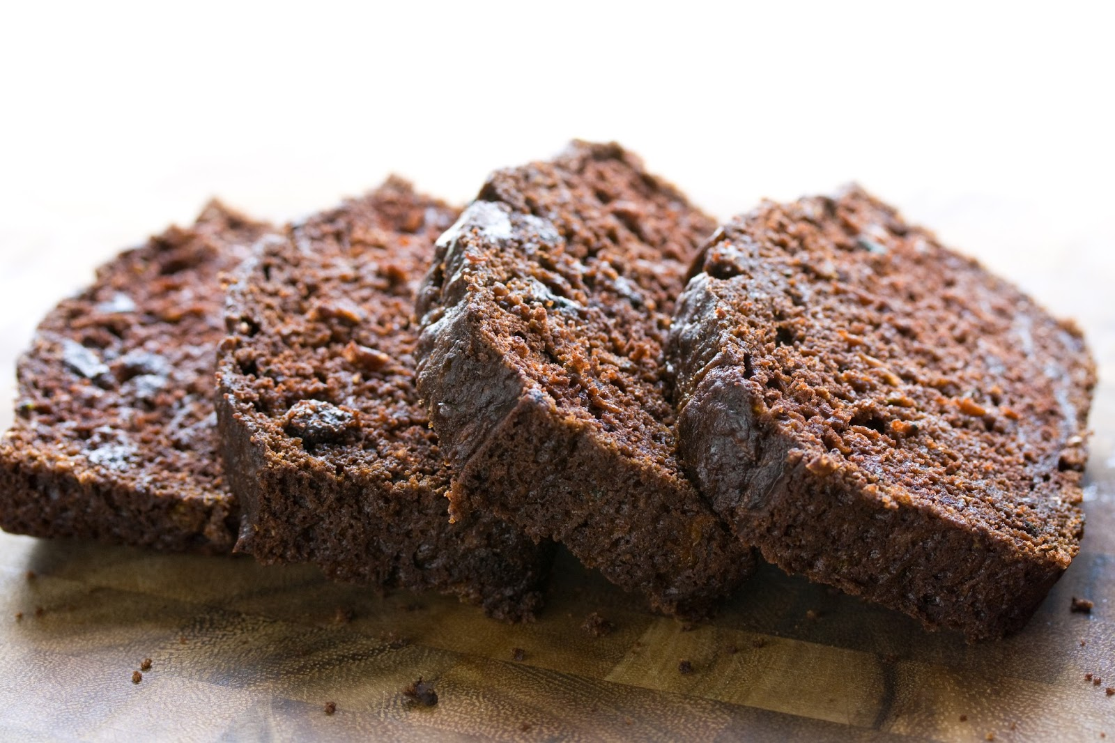 Chocolate Zucchini Bread - a garden to table post - Saving Room ...