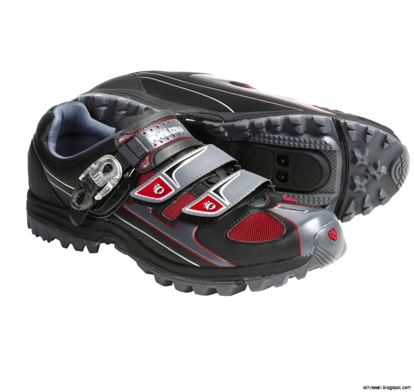 Pearl Izumi X Alp  Mountain Bike Shoes   SPD For Men in Black