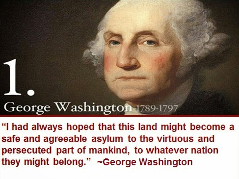 George Washington Quotes Immigrants