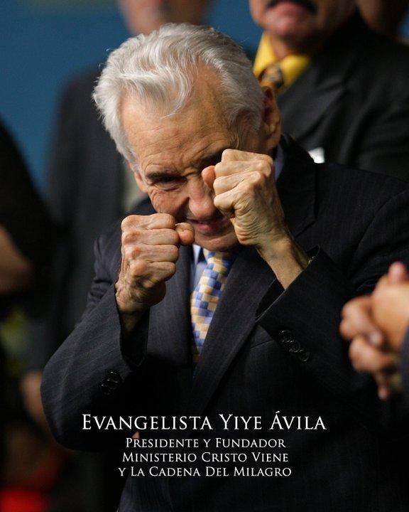 Fallece el Evangelista Internacional Yiye Ávila, presidente y fundador del Ministerio Cristo Viene y La Cadena del Milagro.