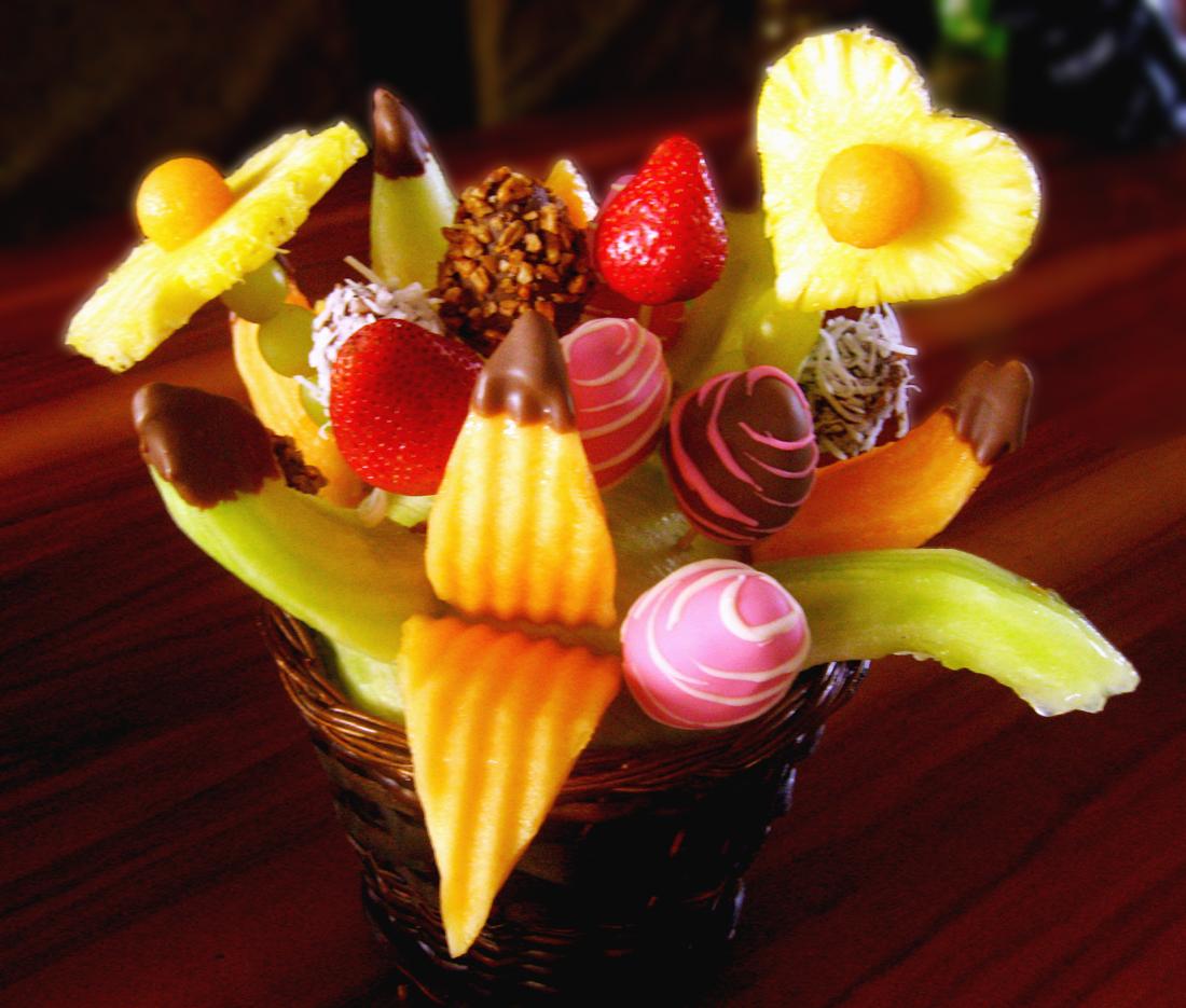 Arreglos frutales for Centros de mesa con frutas