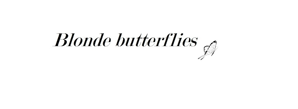 Blonde Butterflies