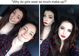 Why Do Girls Wear So Much Make Up