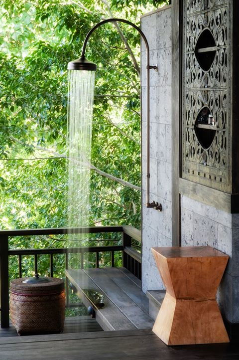 Home And Garden Outdoor Shower Design