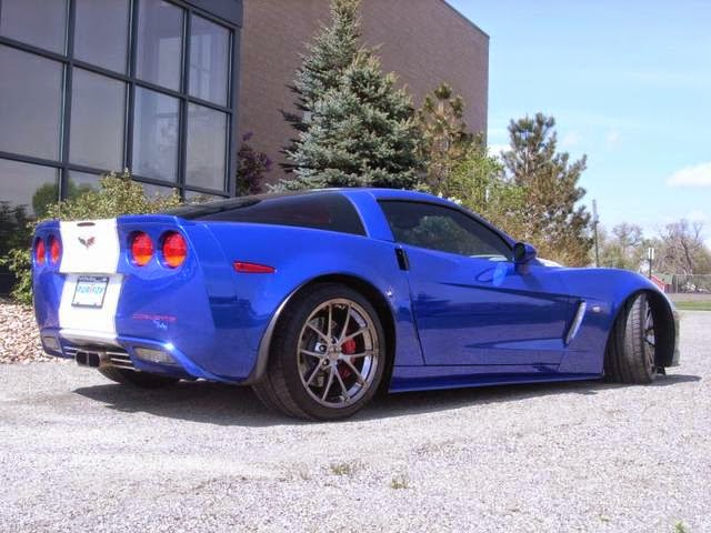 2009 Chevrolet Corvette Z06 Callaway at Purifoy Chevrolet