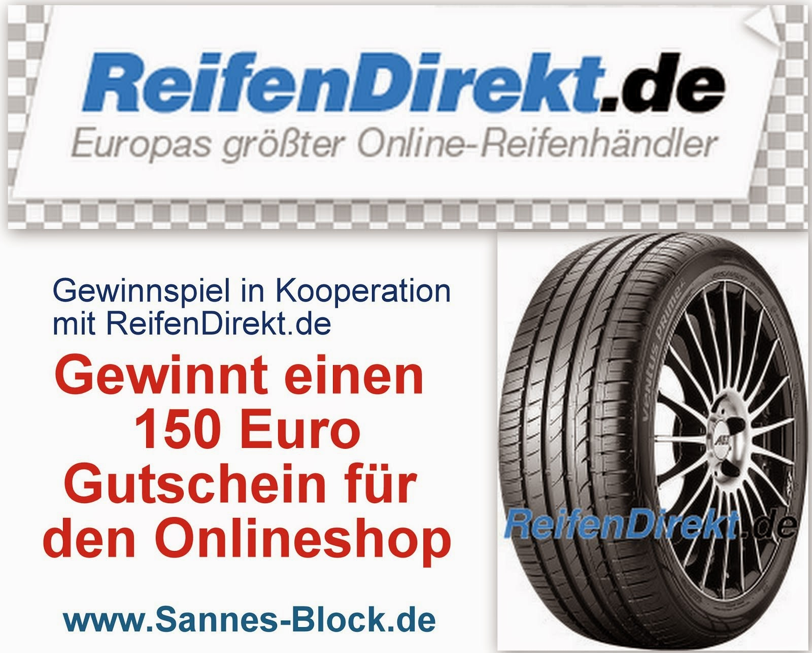 ReifenDirekt.de Gewinnspiel