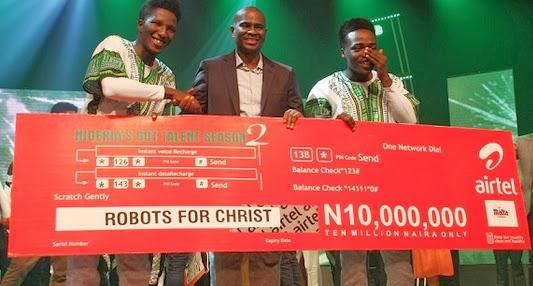 nigeria got talents 2014 winners