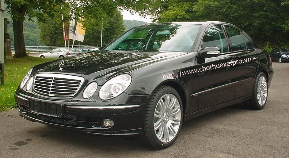 Cho thuê xe cưới Mercedes E280 giá ưu đãi ở Đức Vinh 1