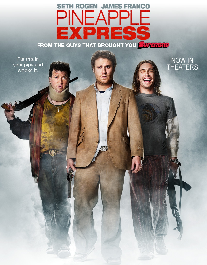 หนังฝรั่งpineapple express วุ่นเเล้วตู จู่ๆก็โดนฟล่า (เจมส์ ฟรังโก,เซ็ธ โรเจน)