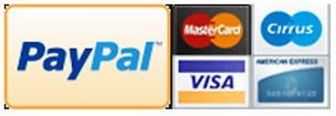 We Accept Paypal & Credit Card