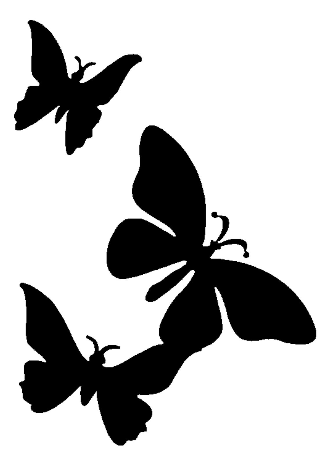 Butterflies Stencils