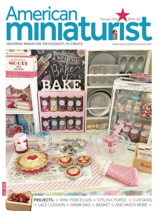 AMERICAN MINIATURIST MAGAZINE FEBRUARY 2018 ISSUE #178