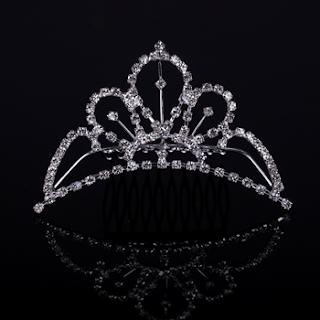 Aksesoris mahkota rambut untuk pesta