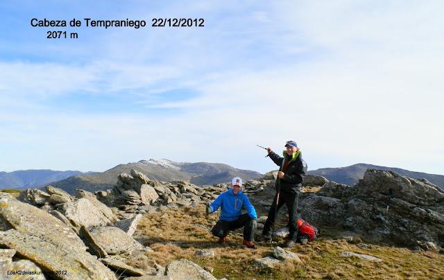 Cabeza de Tempraniego 2.071 m