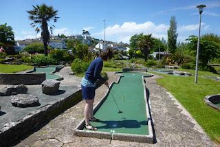 Photo of the Mini Golf course in Goodrington Sands, Paignton