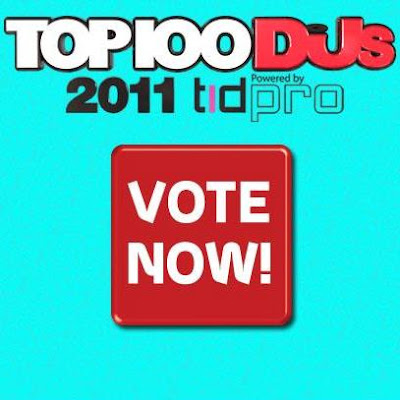 DJ Mag, Top 100 DJ's, voting open