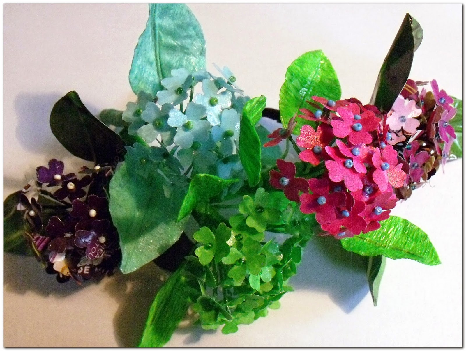Hobbies Tutorial Paper Hydrangea