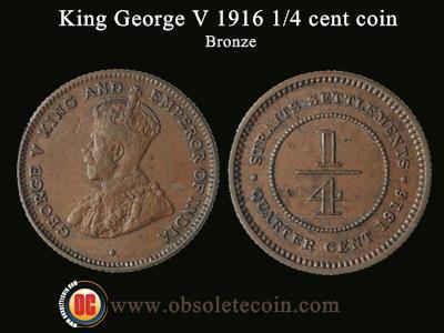 1/4 cent k.george