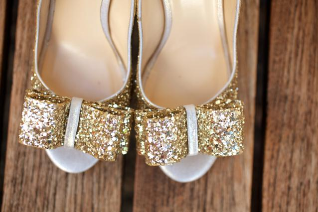 Awesome {Photo Of The Day} Gold Glitter Shoes