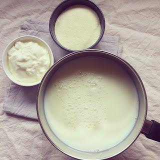 yaourts natures allégés maison four