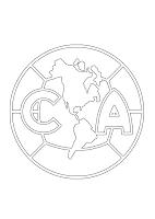 CLUB DE FUTBOL AMERICA COLOREAR