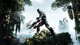 Crysis 3 Hunter Destroyed New York City Covered with Ivy HD Wallpaper