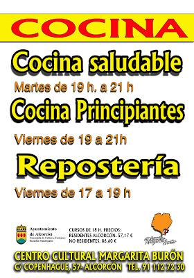 Nuevos cursos de cocina centro cultural cooperante - Curso de cocina madrid principiantes ...