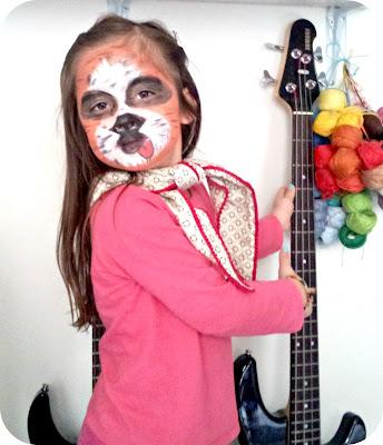 activité maquillage kids enfants tigre