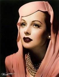 Hedy, un lujo de mujer, con una belleza y un cerebro fascinante!
