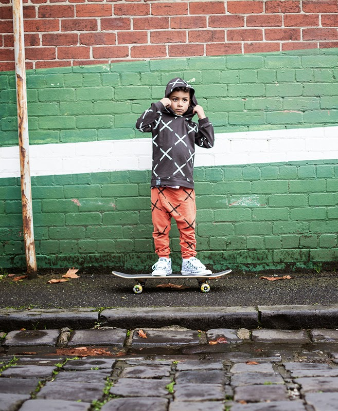 'X Marks the Spot' hoodie and pants Bandit Kids SS14/15