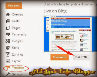 Widget In Blogger