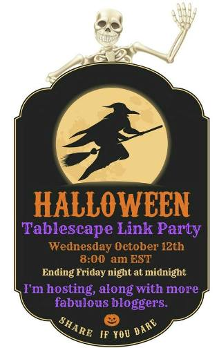 Halloween Tablescape Party!