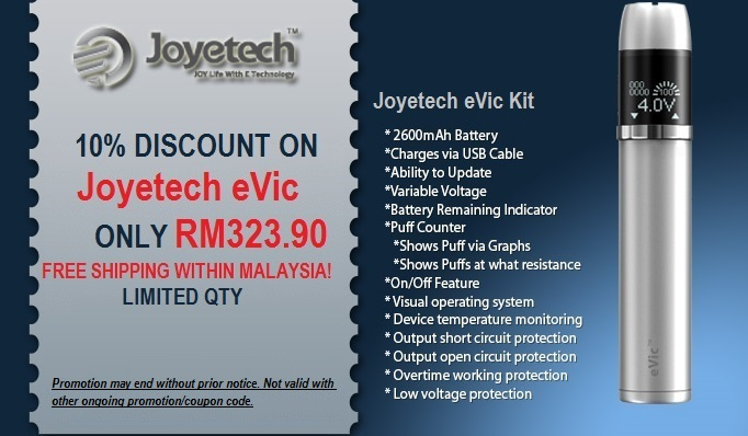evic promotion