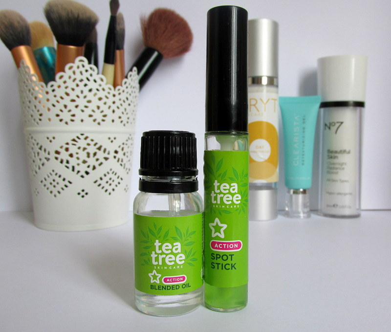 superdrug tea tree spot stick review