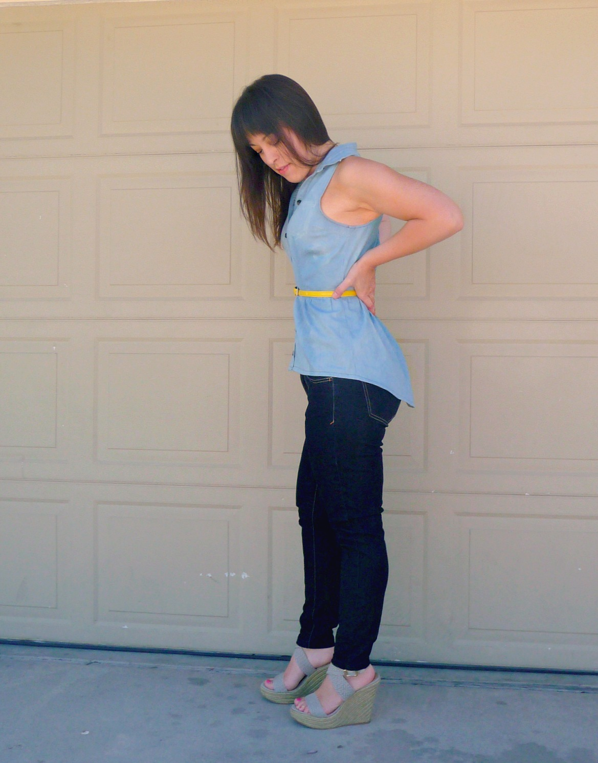 peplum top sewing refashion