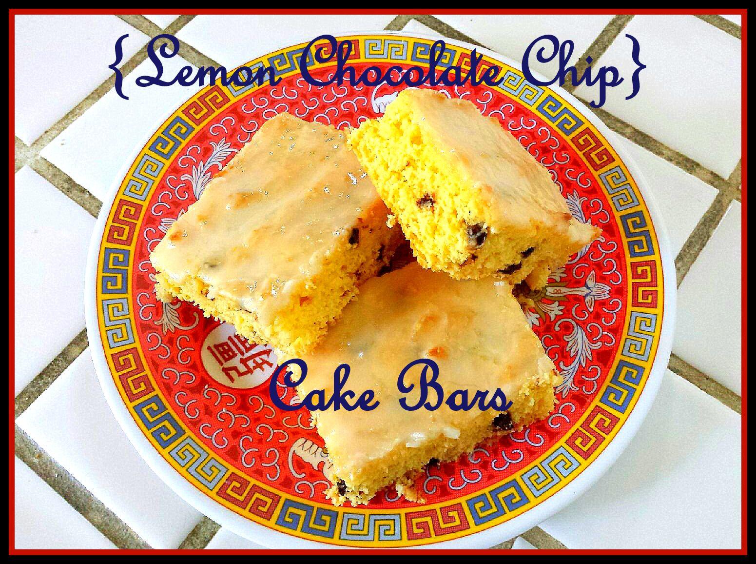 ... , Cancer: Something Sweet: Low Fat Lemon Chocolate Chip Cake Bars