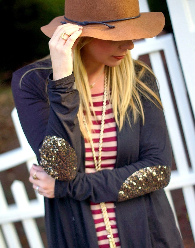 felt floppy hat for fall