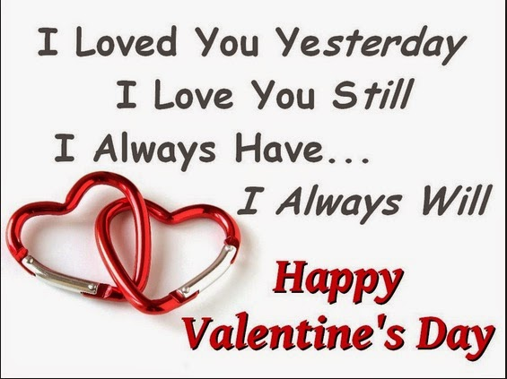 Valentines day 2015 messages