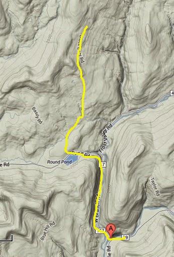 Catskill map