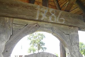 1786 - Renovarea biseriii din lemn din Subcetate