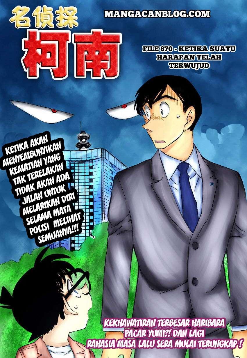 Komik detective conan 870 - ketika suatu harapan telah terwujud 871 Indonesia detective conan 870 - ketika suatu harapan telah terwujud Terbaru 1|Baca Manga Komik Indonesia|Mangacan